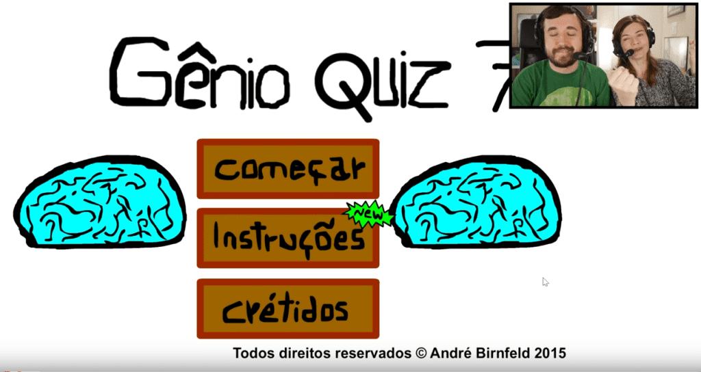 Genio Quiz 7 - Coisa de Nerd