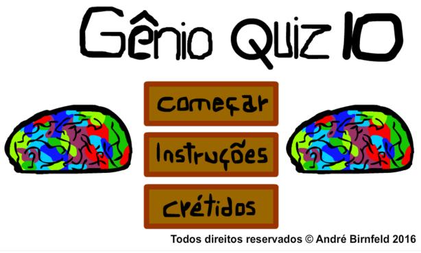 Gênio Quiz 10 grátis