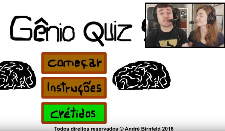 Coisa de Nerd Jogando o Gênio Quiz 9