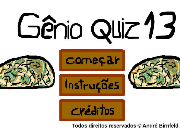 Gênio Quiz 13 - Genio Quiz