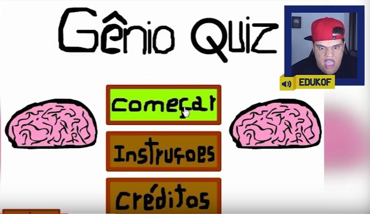 AM3NlC jogando o Gênio Quiz