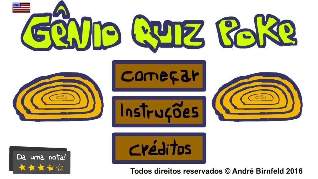Gênio Quiz Poke lançamento