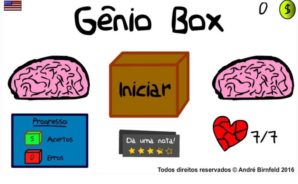 Gênio Box início