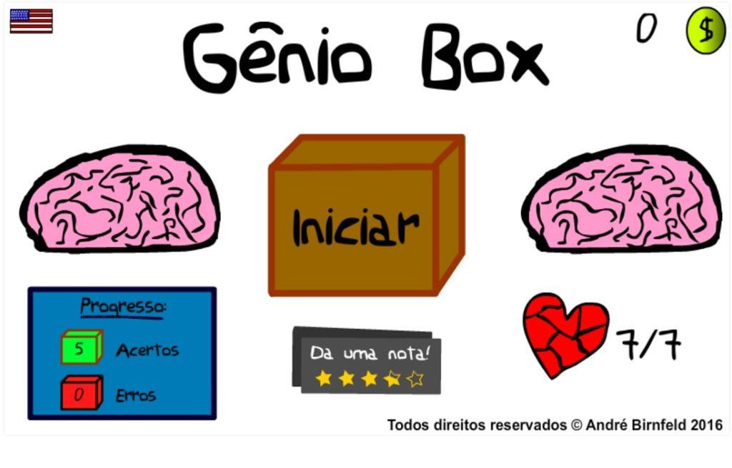 Gênio Box capa