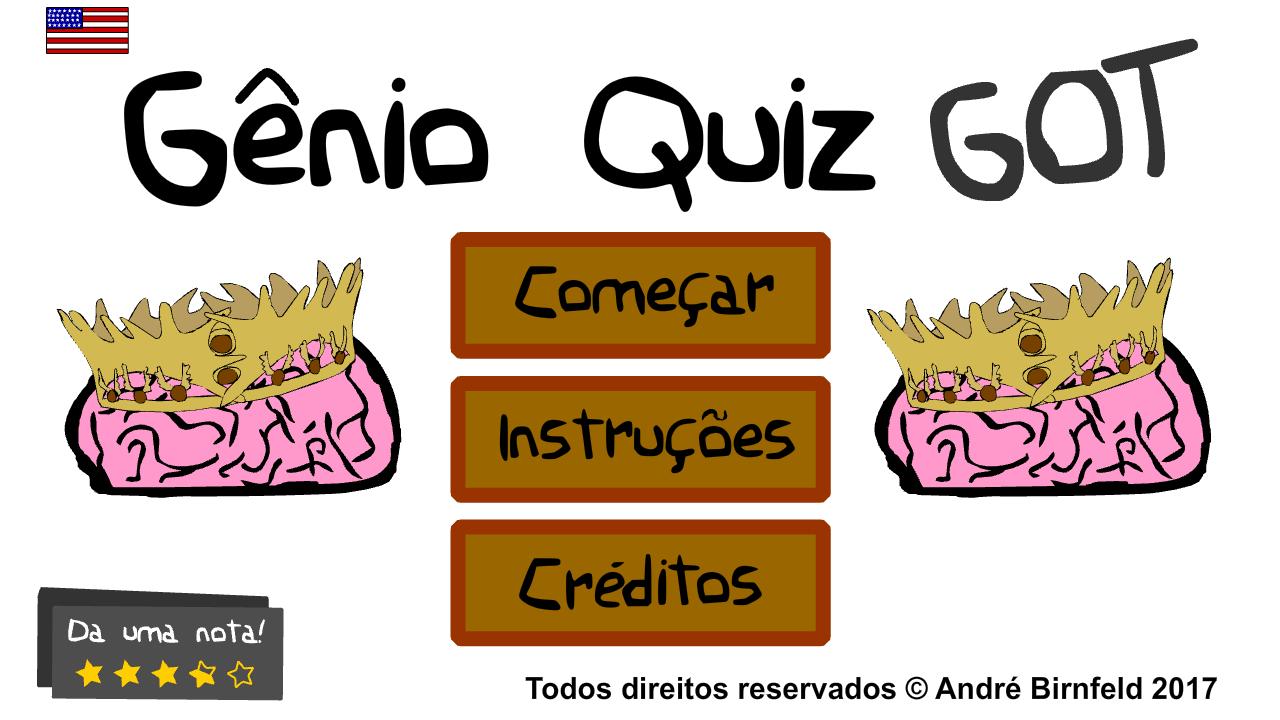 Gênio Quiz Game of Thrones