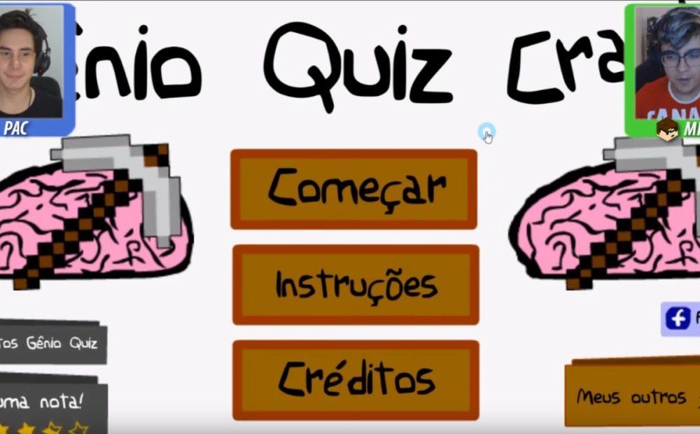TazerCraft jogando o Gênio Quiz Minecraft