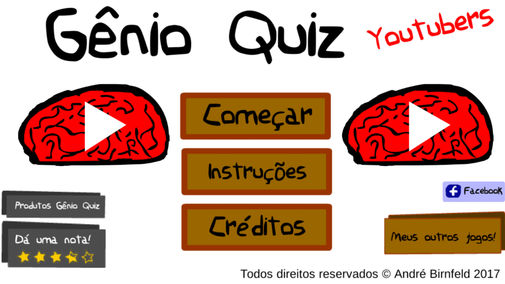 Gênio Quiz Youtubers saiba a resposta