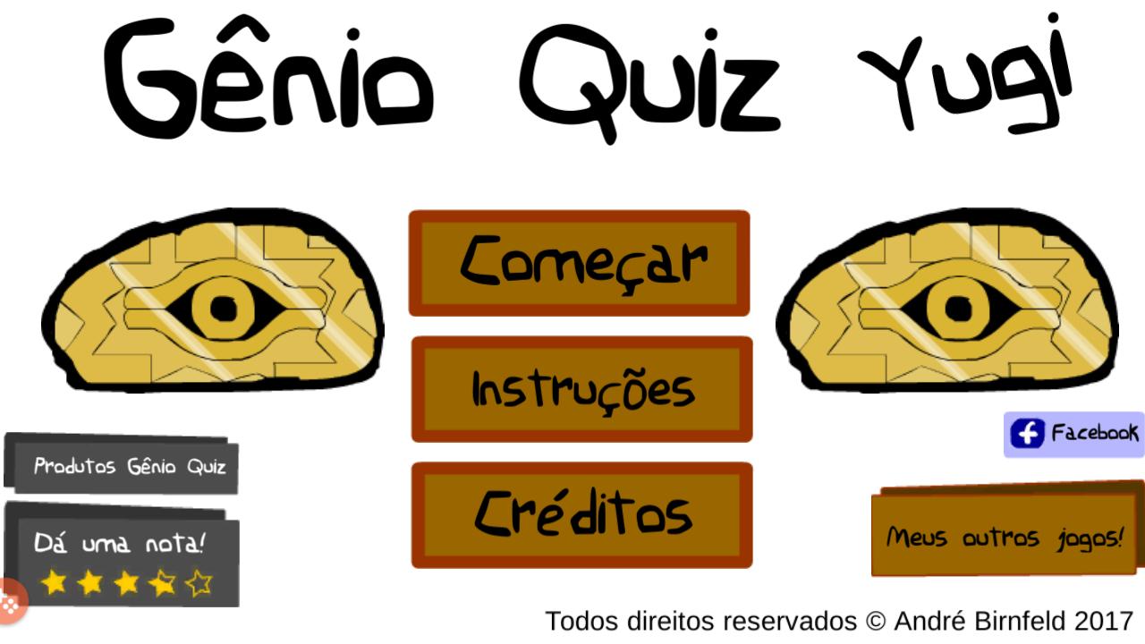 Genio Quiz Yu-Gi-Oh! jogue grátis
