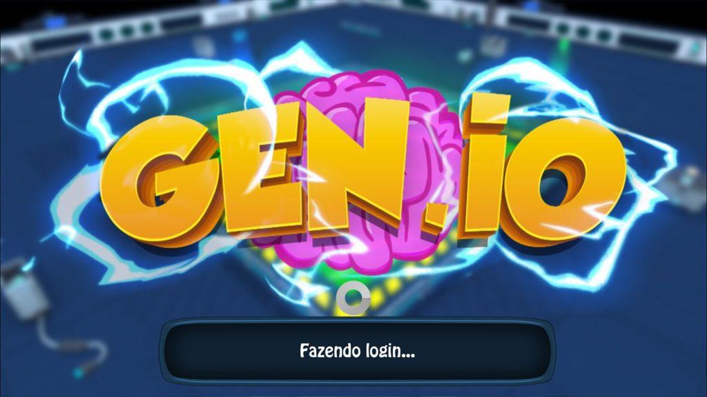 Godenot jogando o Gen.io