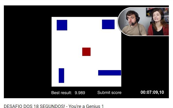 Você é um Gênio? é um desafio do canal coisa de nerd