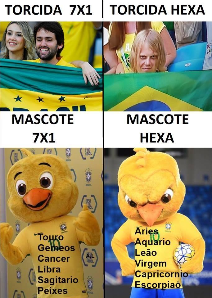 Memes da Copa - Canarinho Pistola