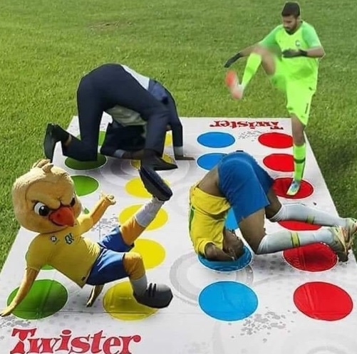 Memes da Copa - Twister