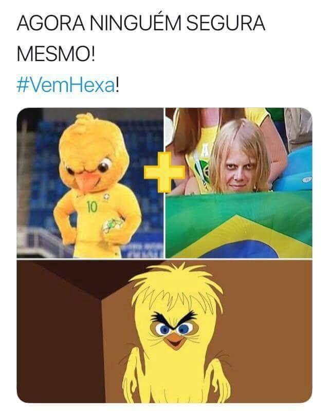 Memes da Copa - Canarinho e Psicopata