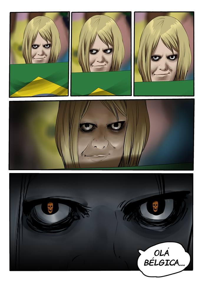 Memes da Copa - Ilustração Psicopata