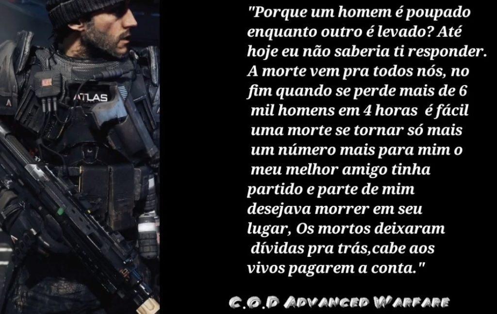 Call of Duty Frases de Jogos