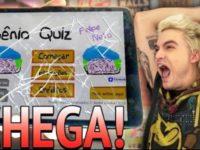 Felipe Neto jogando o Gênio Quiz