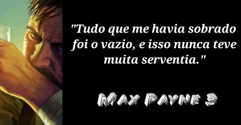 Max Payne 3 frases de jogos