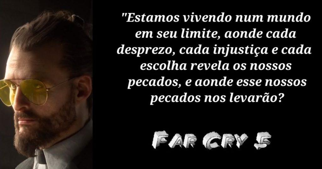 Far cry 5 frases de jogos