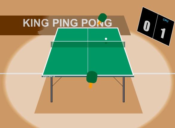 Jogos grátis rei do ping pong