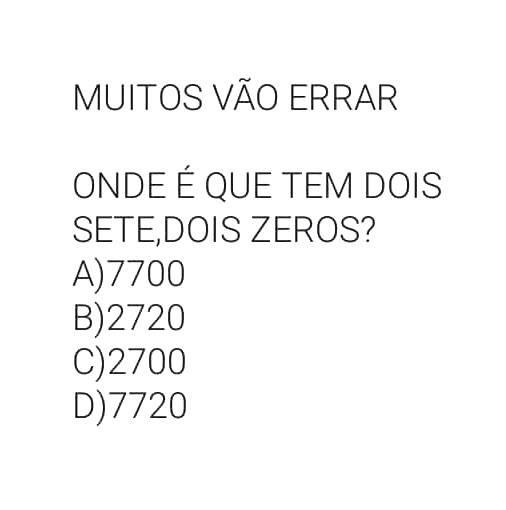 Dois Sete, Dois Zeros