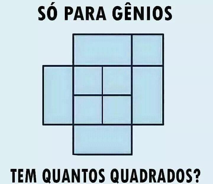Desafio dos Quadrados
